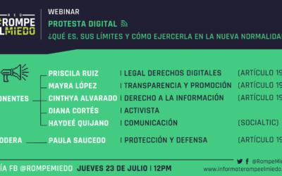Webinar 5: Protesta digital